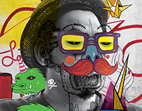 StreetCon 2015 Urban Art Jam Branding