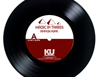 "Magic In Threes 7"" on KingUnderground"