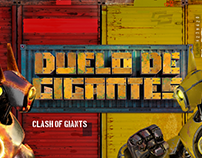 Clash of Giants – Interactive Climbing Wall