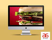3D Modelling | Burger