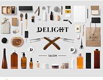Final Branding for Delight Salon