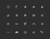 Monochromatic Logofolio 2018
