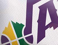 NBA Logo Redesign - Utah Jazz
