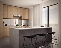 Modern Kitchen & Nook
