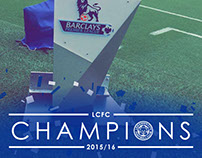 Leicester City - 'Champions' Snapchat Geofilter