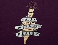 AJ The Wizard Healer: Branding