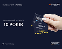 "Branding for ""Vyshyvankovy Festival"""