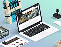 Blanchet Website Redesign