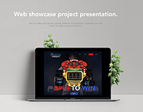 Office Project: one page gym website