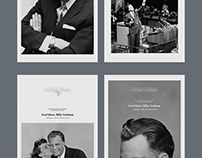 Billy Graham Cover Sketches