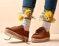 Spring Shoes Photoshoot