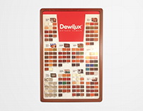 DYO - Dewilux Wood Stain Color Chart