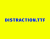 Distraction.TTF - D&AD award entry (2015)