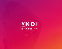 vKoi Brand Identity