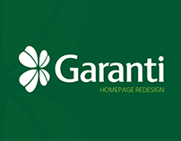 Garanti Bank Redesign