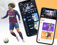 Sports Mobile App | UI / UX Design