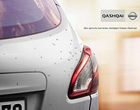 Nissan Qashqai Rear Cam Layout