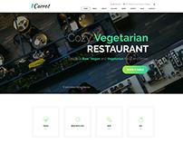 Vegan rest template for weblium.com templatemonster.com