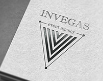 "Logo event agency ""Invegas"""