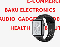 Baku Electronics E-commerce