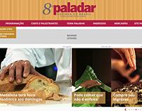 Web Design - Paladar Cozinha do Brasil