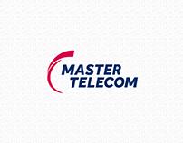 Redesenho do logotipo Master Telecom