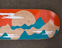 Behind the Sun - Skateboard Graphic