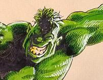 Hulk likes football