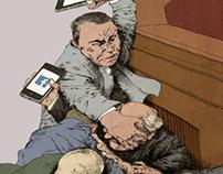 War in social media