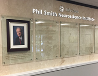 Phil Smith Neuroscience Institute Wall of Honor