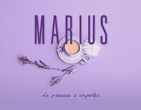 Marius - label design