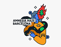 Amnesia Haze - Branding