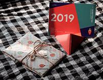 Calendar 2019 - Doraemon Gadgets