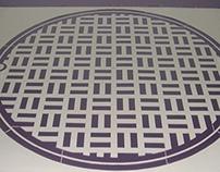 sewer stencil