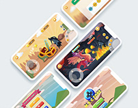 M.A.G ZONE Motivational Game for Student - UI/UX Design