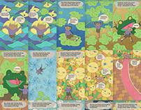 Mau's Adventure - Comic and Animated Comic - Episode 2