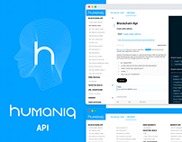 Humaniq API website