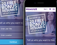 Monster Hiring Homepage