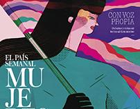 Cover magazine MUJERES