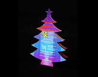 Traders Upper East, Beijing: Christmas Flyer/Tent Card