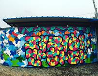 패러에 반하다-Graffiti by LEODAV