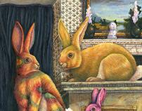 Tie Dye Rabbits