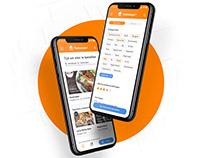 Mobile app minimalistic re-design
