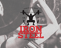 Iron & Steel Academy of Crossfit - Branding