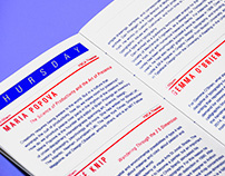 TYPO San Francisco, program redesign