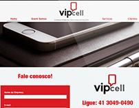 Site Vipcell Consultoria em Telecomunicações
