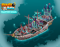Pirate Bash: Phantom Vessel [Art Direction]