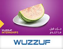 "WUZZUF Internship SM. Campaign ""جرب قبل ما تندم"""