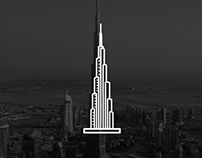 Dubai Building Icons