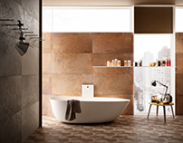 Lamiera Bathroom - Tiles LaFaenzaCeramica